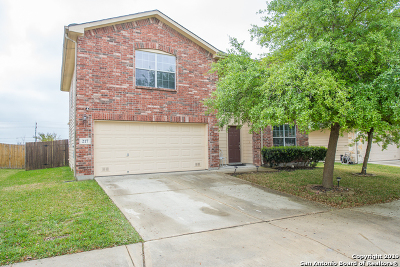 Cibolo Single Family Home For Sale: 217 Longhorn Way