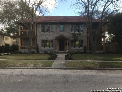 Alamo Heights Multi Family Home For Sale: 128 Katherine Ct