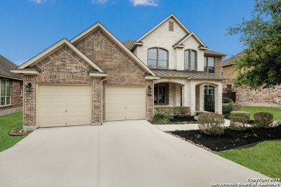 Cibolo Canyons Single Family Home Active Option: 23311 Treemont Park