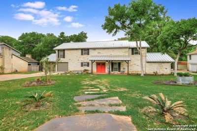 New Braunfels Single Family Home For Sale: 1827 Crystal Springs Rd