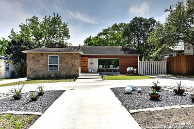 Alamo Heights Single Family Home For Sale: 222 Claywell Dr