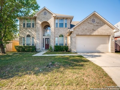 Helotes Single Family Home Active Option: 9360 Cedar Pt