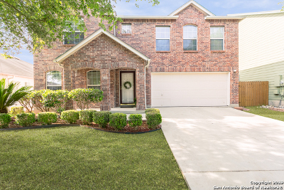 Schertz Single Family Home Active Option: 3309 Whisper Haven