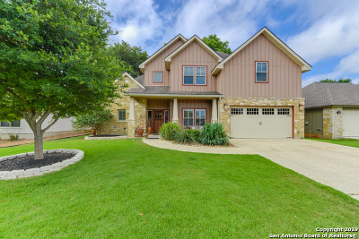 Boerne Single Family Home For Sale: 107 Devonshire Rd