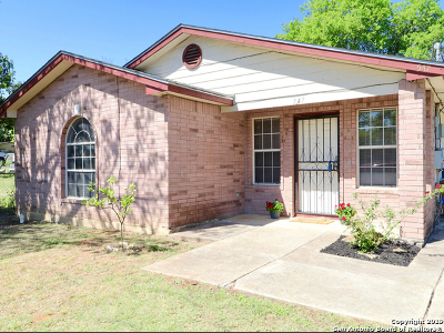 San Antonio Single Family Home Active Option: 547 San Eduardo Ave