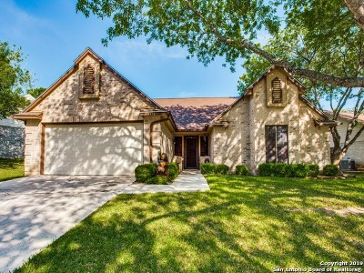 Schertz Single Family Home For Sale: 3712 Hunters Glen