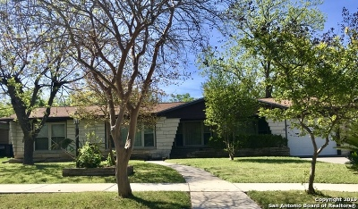 San Antonio Single Family Home Back on Market: 134 Renner Dr