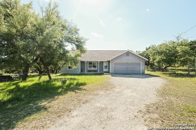 Bandera Single Family Home Active Option: 278 Spotted Horse Trail