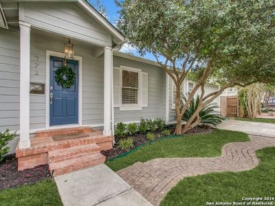 Alamo Heights Single Family Home Price Change: 272 Claywell Dr