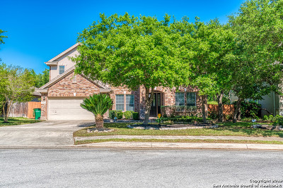 Stone Oak Single Family Home Active Option: 19310 Fenwick Crest