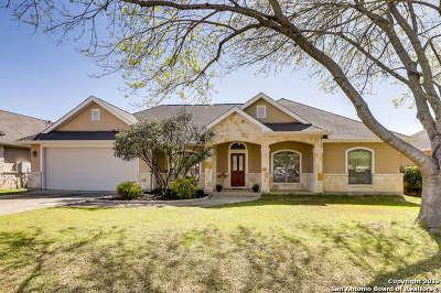 Boerne Single Family Home New: 307 Harvest Garden