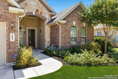 Boerne Single Family Home Price Change: 208 Windsor Dr