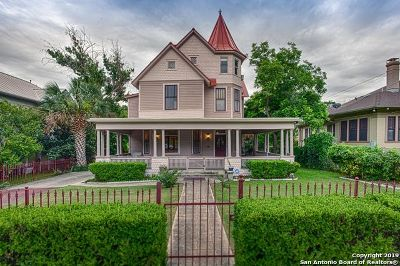 Single Family Home Active Option: 124 E French Pl