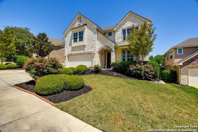 Cibolo Canyons Single Family Home Active Option: 3315 Brooktree Ct