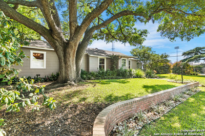 Bexar County Single Family Home Active Option: 204 E Fair Oaks Pl