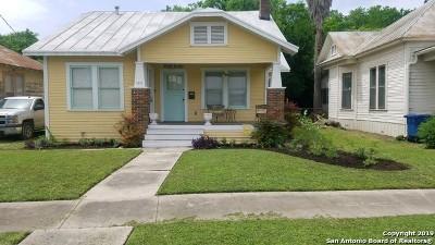 Single Family Home New: 317 Hunstock Ave