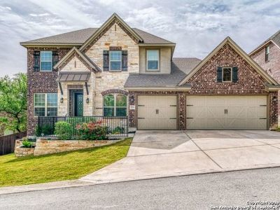 Boerne Single Family Home New: 8922 Irving Hill