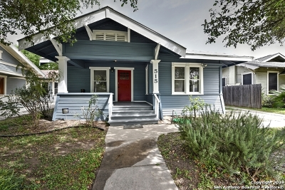 Single Family Home Active Option: 515 W Agarita Ave