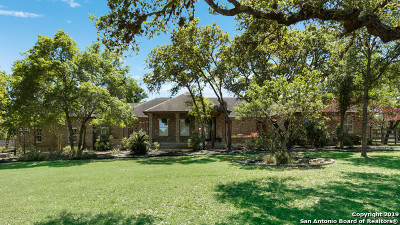 Fair Oaks Ranch Single Family Home Active Option: 7660 Intrepid Dr