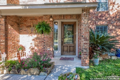 Helotes Single Family Home Price Change: 10715 Bramante Ln
