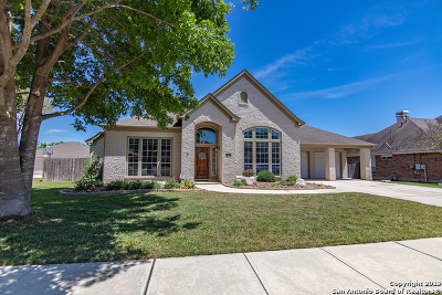 New Braunfels Single Family Home Active Option: 2351 Oak Pebble
