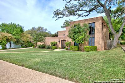 San Antonio Single Family Home For Sale: 7207 Ashton Pl