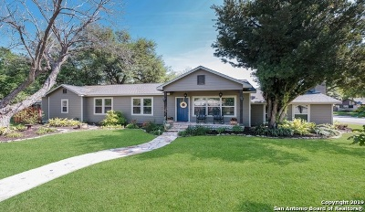 Hondo Single Family Home Price Change: 1407 28th St