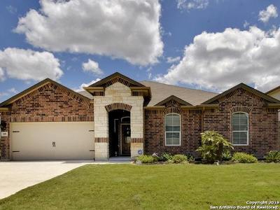 Cibolo Single Family Home Active Option: 308 Minerals Way