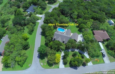New Braunfels Single Family Home For Sale: 1990 Flaming Oak Dr