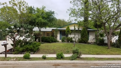 Leon Valley Single Family Home Active Option: 7011 Wildfern St