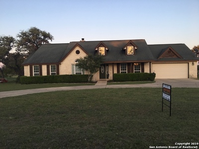 Bandera Single Family Home Active Option: 124 Knollwood Circle