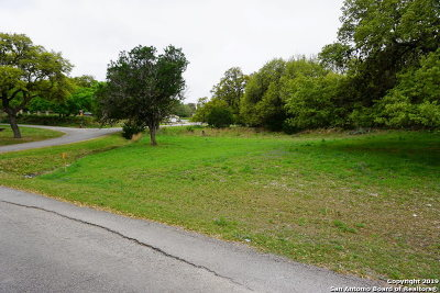 Canyon Lake Residential Lots & Land For Sale: 103 Creekview Dr