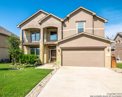 Cibolo Single Family Home New: 512 Saddle Hill