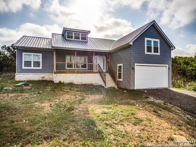 Canyon Lake Single Family Home Active Option: 519 Deer Run Pass