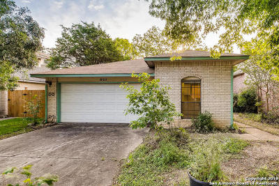 San Antonio Single Family Home Back on Market: 8511 Wood Arbor