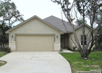 Canyon Lake Single Family Home New: 1310 Parton Rd