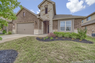 Cibolo Single Family Home New: 464 Turning Stone