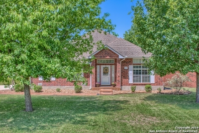 Seguin Single Family Home For Sale: 184 Plantation Dr