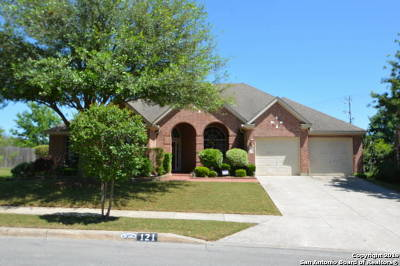 Cibolo Single Family Home New: 121 Green Brook Pl