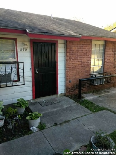 San Antonio Multi Family Home Active Option: 842 Yucca St