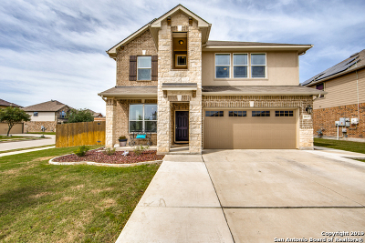 Schertz Single Family Home Active Option: 10217 Colonel Rdg