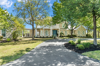 Boerne Single Family Home New: 554 Cordillera Trace