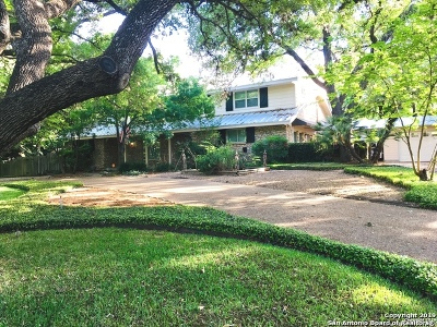 San Antonio Single Family Home New: 9131 E Valley View Ln