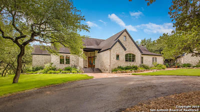 Boerne Single Family Home New: 28345 Bridle Path