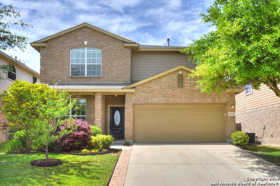 Alamo Ranch Single Family Home New: 6723 Karnes Leaf