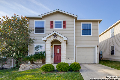 Bexar County Single Family Home Active Option: 12410 Basil Bay