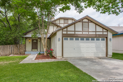 San Antonio Single Family Home Active Option: 14347 Bellcrest Dr