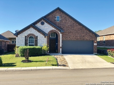 Boerne Single Family Home New: 7635 Mission Pt