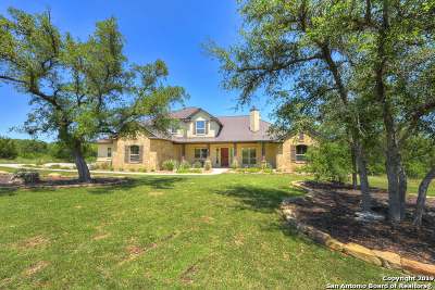 New Braunfels Single Family Home Active Option: 1147 Diretto Dr