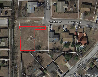 San Antonio Residential Lots & Land New: 10630 Louisburg Dr Lot 28